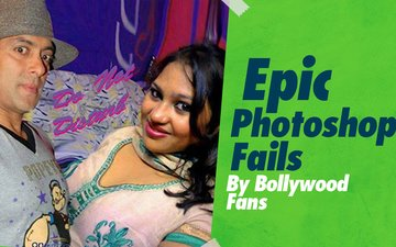 VIDEO: Epic Photoshop Fails By Bollywood Fans!