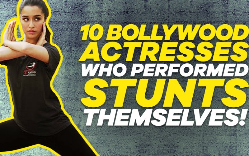 VIDEO: Bollywood Actresses Who Performed Stunts Themselves!