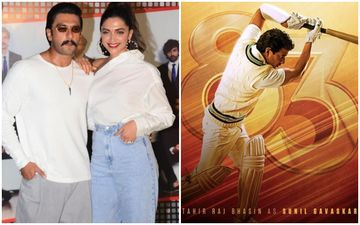 '83 Logo: Ranveer-Deepika Raise The Curtain To Unveil The Logo; Meet Tahir Raj Bhasin As Sunil Gavaskar