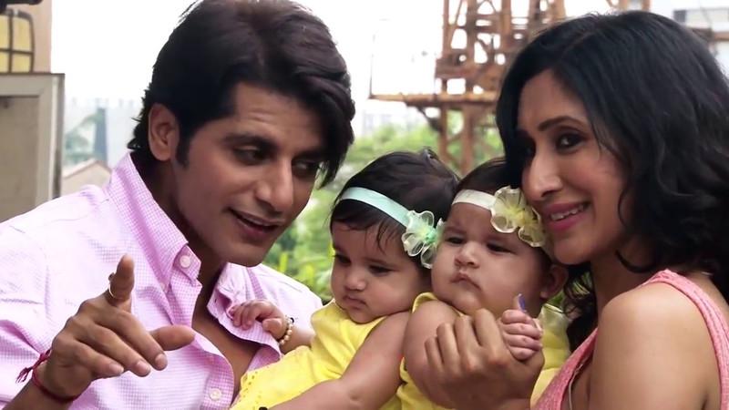 karanvir bohra with his family