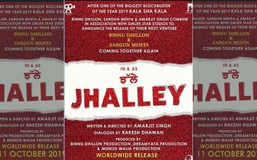 'Jhalley': The Title Of Binnu Dhillon And Sargun Mehta's Second Film Together Is Out Now