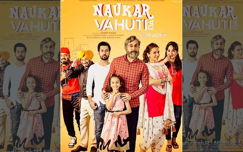 'Naukar Vahuti Da' New Poster Features Full Cast Of The Film