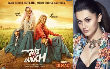 """Nobody Questions When Big Actors Portray College Characters Triple Their Age"", Taapsee Pannu HITS Back On Criticism For Saand Ki Aankh"