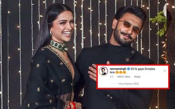 """What A Good Sindhi Bahu"" Says A Madly-In-Love Ranveer Singh On Deepika Padukone's 'Too Much Bling' Picture"