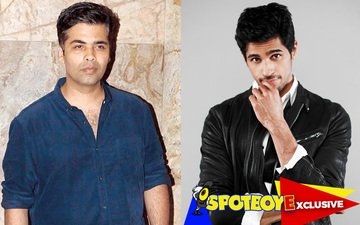 Karan Johar walks out from a film for his blue-eyed boy Sidharth Malhotra