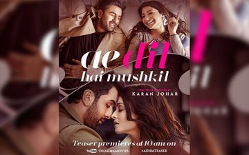Ae Dil Hai Mushkil posters point towards an intriguing romantic tale!