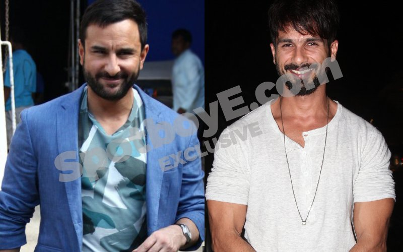 Are Saif & Shahid relieved that Rangoon is delayed?