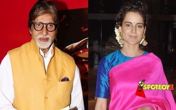 Amitabh Bachchan bags National Award for Best Actor, Kangana is the Best Actress