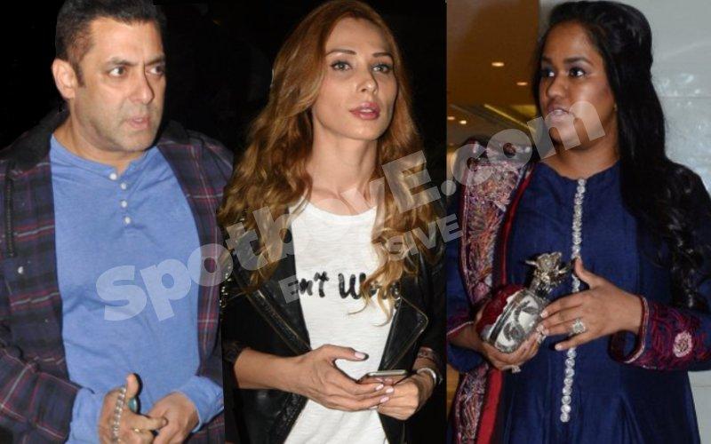 Salman-Iulia Play Perfect Bhai-Bhabhi, Visit Arpita After Theft At Her Bandra Home