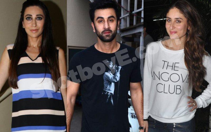 Kapoors do a 'Shanti Puja' for Karisma, Ranbir and Kareena