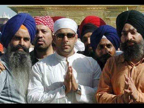 Salman Khan At Golden Temple