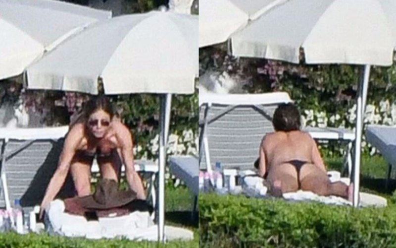 In Pics: Jennifer Aniston goes topless!!