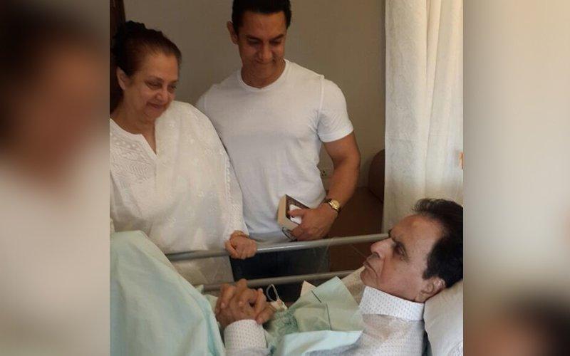 Aamir Khan visits Dilip Kumar