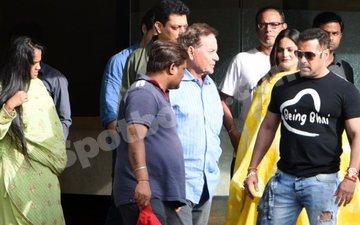 IN PICS: Salman Khan Flies Down From Ladakh To Celebrate Raksha Bandhan