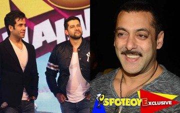 Tusshar-Aftab spoof on Salman's films