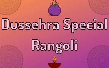 Dussehra Special Rangoli: 5 Easy DIY Designs That Will Add A Spark To Your Festivities