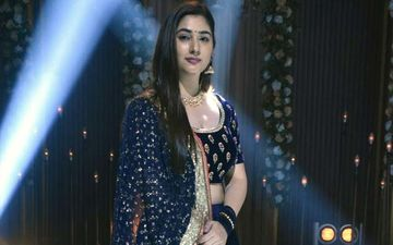 Disha Parmar Adds A Personal Touch To Her Sangeet Outfit In Bade Achhe Lagte Hain 2