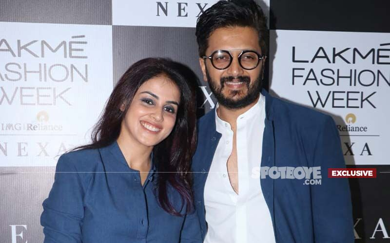 Genelia Deshmukh On Husband Riteish Deshmukh's Parenting Skills: 'Even Though I Don't Want Him To Hear It, But As A Dad Riteish Is A 10'-EXCLUSIVE VIDEO