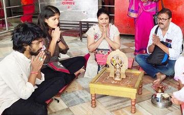 10 By 10: Prathamesh Parab Seeks Blessings Of Shanidev In Shingnapur With The Team