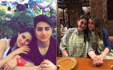 Sara Ali Khan Holidays With Family In London - Pics Inside