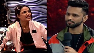 Bigg Boss 14: Netizens Slam Jasmin Bhasin For Playing The Woman Card; Support Rahul Vaidya Instead