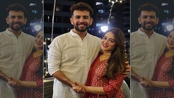 Jay Bhanushali And Mahhi Vij Share Videos And Pictures Of Their Daughter Tara's Mundan Ceremony; Family Grooves To Bala Later