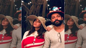 Farhan Akhtar And Shibani Dandekar Send Out Christmas Gifts Officially As A Couple; Gift Box Carries Their Name Tags