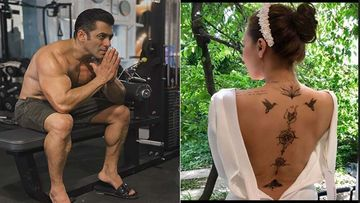 Have You Seen Salman Khan's Rumoured GF Iulia Vantur's Countless Tattoos? Singer Reveals All In A Backless Photo