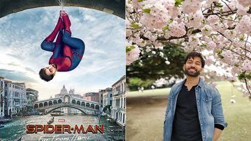 Nakuul Mehta Can Easily Pass Off As Spiderman In This Photoshopped Poster Of Tom Holland's Hit Flick