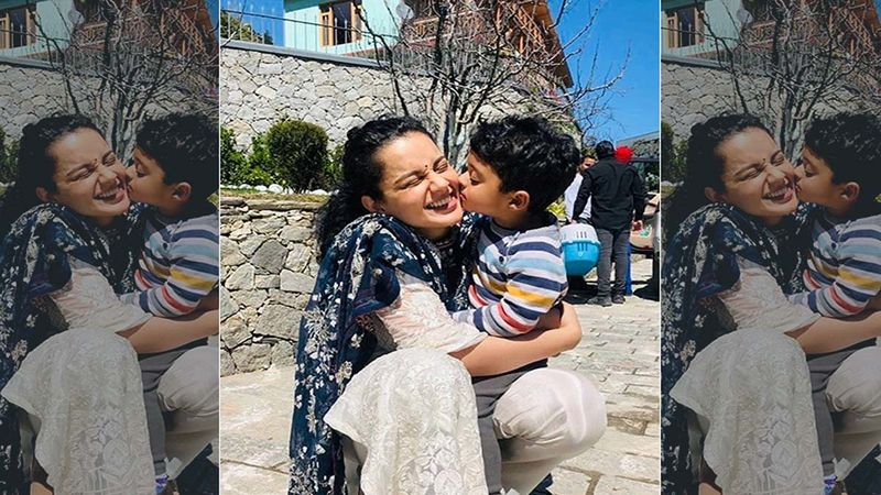 Kangana Ranaut And Nephew Prithvi's Workout Session Is Too Adorable To Be Missed-VIDEO