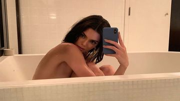 Kendall Jenner Kills Her Boredom By Posting Nude And Semi-Nude Bikini Pics