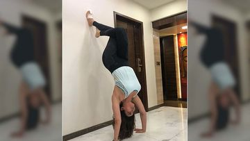 Khatron Ke Khiladi 10 Star Karishma Tanna Gets Back To Yoga Despite Her Toe Surgery; Says 'Can't Stop Won't Stop'