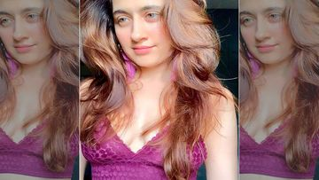 Sanjeeda Shaikh Looks Hot In A Purple Lacy Lingerie; Fans Flood Her Comment Section With Heart And Fire Emojis