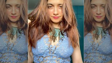 Sanjeeda Shaikh Continues To Raise The Mercury, Slips Into A Lacy Bralette