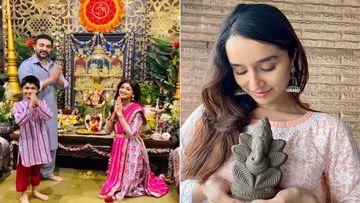 Ganpati Visarjan 2020: Shilpa Shetty And Shraddha Kapoor Opt For An Eco-Friendly Way To Bid Adieu To Lord Ganesha