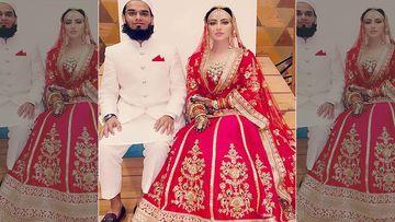 Newlywed Sana Khan Steals Hubby Anas Saiyad's Gift Idea; Presents Him A Phone On Their 2 Months Wedding Anniversary