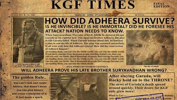 KGF: Chapter 2's Teaser To Release On THIS Date; Makers Create Curiosity Around Sanjay Dutt's Onscreen Character Adheera
