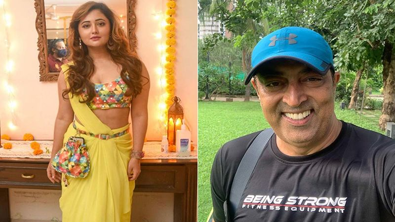 Bigg Boss 13's Rashami Desai Gets Papped With Vindu Dara Singh; Requests Media Not To Shoot Her Car Number While Covering It Smartly