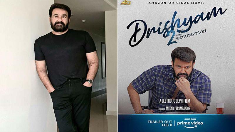 Drishyam 2 Trailer: Malayalam Superstar Mohanlal's Film Trailer Announcement Gets #Drishyam2Trailer Trending In India