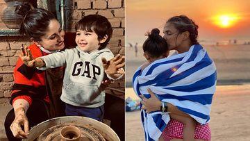 Karan Johar's Twins Yash And Roohi's Birthday Bash: Kareena Kapoor Khan Graces The Party With Taimur Ali Khan, Neha Dhupia Arrives With Daughter Mehr