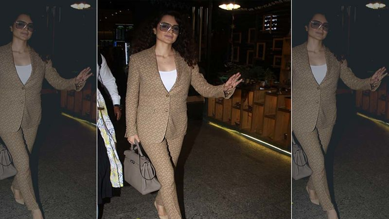 Kangana Ranaut Wraps Up Tejas' Delhi Schedule With A 'Vulgarly Delicious' Meal- Picture Inside