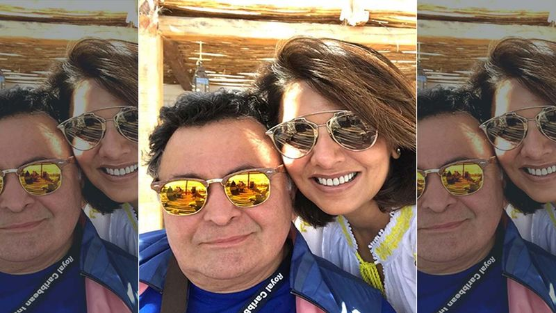 Neetu Kapoor Shares Unseen Throwback Picture Of Late Husband Rishi Kapoor Celebrating Holi With Amitabh Bachchan