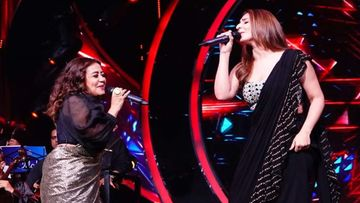 Indian Idol 12: Neha Kakkar And Dhvani Bhanushali Leave Everyone Impressed With Their Impromptu Performance Of Blockbuster Track 'Dilbar'