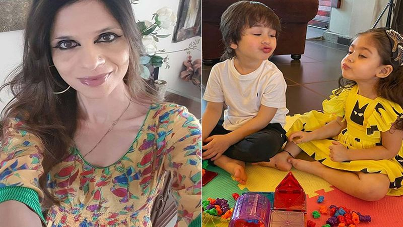 Saba Ali Khan Shares Unseen Pics Of Taimur Ali Khan, Inaaya Naumi Kemmu And Other Family Members From Her Past Birthday Celebration; Gives Fans Sneak-Peek