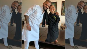 Shikhar Dhawan's Son Zoraver Is A Pro At Being A Makeup Artist; Cricketer Gets A Makeover Amidst The Lockdown- Video Inside
