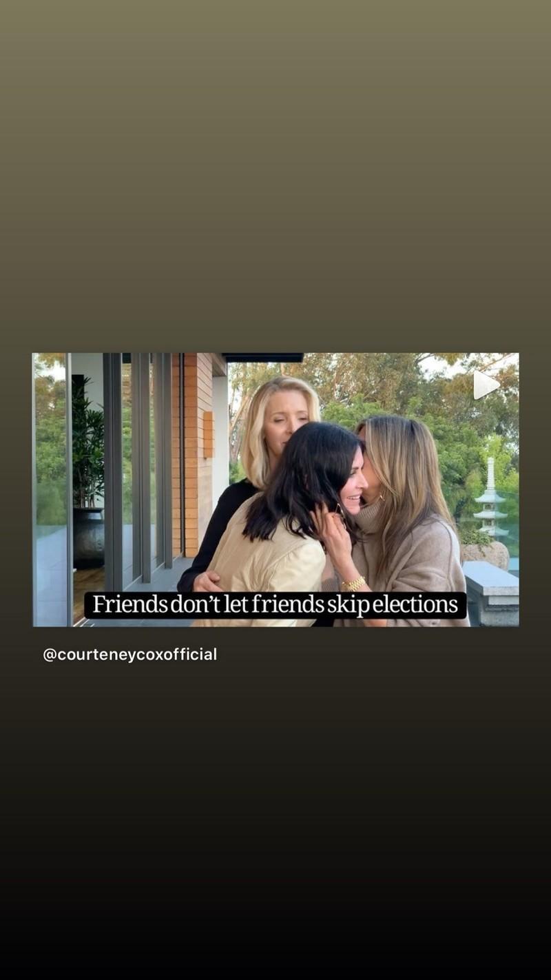 Jennifer Anistons Instagram story