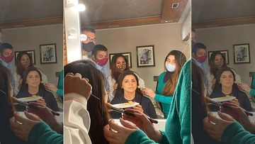 After Recovering From COVID-19 Neetu Kapoor Drops A Boomerang Video Of Her Last Day On The Sets Of Jug Jugg Jeeyo- WATCH