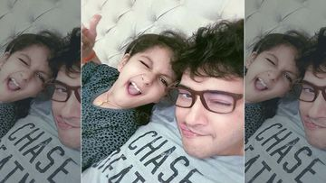 Mahesh Babu's Daughter Sitara Takes The COVID-19 Test And Says This Shall Help Form A Safer Environment- VIDEO INSIDE