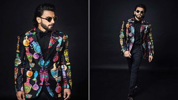 Ranveer Singh Seeks Inspiration From Hollywood Star Sara Sampaio For His Versace Blazer; Adds His Classy Touch To It