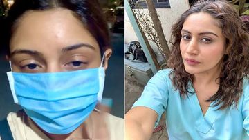 Coronavirus Scare: Surbhi Chandna's Dad Asks Her To Wear A Mask; Gives A Glimpse Of Safety Measure Taken By Residential Premises